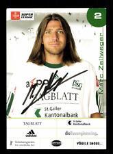 Marc Zellweger Autogrammkarte FC St Gallen 2003-04 Original Signiert+A 160170