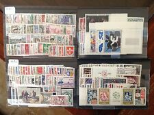 France complete year sets 1960 to 1964 215 stamps all  MNH