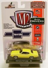 1969 '69 PONTIAC GTO JUDGE R31 15-03 M2 MACHINES AUTO DRIVERS DIECAST