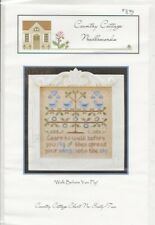 Walk Before You Fly Cross Stitch Chart - Country Cottage Needleworks
