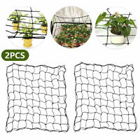 2Pc 81 Holes Scrog Net Mesh Grow Tent Hydroponics Indoor Plant Support For Plant