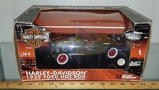 1/18 HIGHWAY 61 COLLECTIBLES HARLEY-DAVIDSON 1929 FORD HOT ROD OLIVE GREEN gd