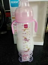 tracyslittletreasures fake formula milk bottle+pacifier~ MAMS 230ml for reborns