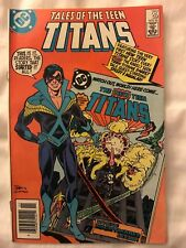 Dc Comics Tales of theTeen Titans '85-'87 8 books in set Very Fine Condition