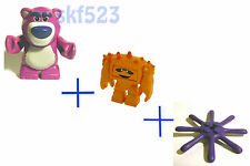 LEGO Toy Story 3 Lotso + Chunk mini figure ( two faces) + Octopus Leg from 7789