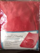 Koala Baby Plush Changing Pad Cover - Coral