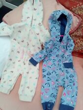 2 x 3 - 6 Months Baby Grows With Hood'S, Disney Baby & F & F