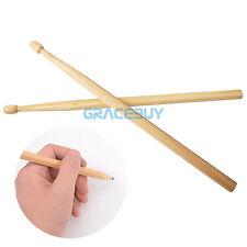 2Pcs Wooden Drumstick Pen Pencils Drum Stick Shape HB Writting Pencil Music Gift