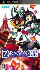 Used PSP SEGA 7th Dragon 2020  SONY PLAYSTATION JAPAN IMPORT