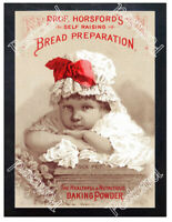 Historic Prof Horsford's Self Raising Bread Preparation Advertising Postcard
