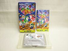 BOMBERMAN 3 III Item REF/bcc Super Famicom Nintendo Hudson Japan Boxed sf