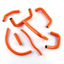 Orange Coolant Pipe Silicone Radiator Hose Kit For KTM LC4 620 625 640 660