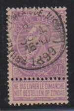 A8683: Belgium #74 Used, F-Vf, Sound; Cv $70