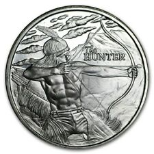 USA The Hunter 2017 Indianer American Buffalo 1 oz 999 Silber Silver Round