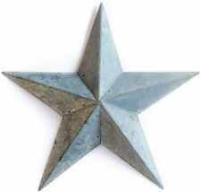 Metal Country Tin Galvanized Barn Star Country Primitive Star Wall Décor 11""