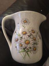 Daisy Milk  Jug Kernewek Pottery Cornwall VGC