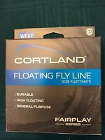 NEW CORTLAND FLOATING FLY LINE WF5F (LENGTH 84') FAIRPLAY SERIES