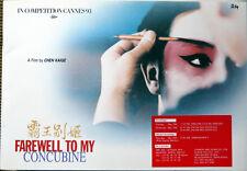 DP Adieu, ma concubine (1993) Kaige Chen  Leslie Cheung, Fengyi Zhang, Li Gong