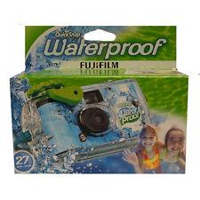 Fuji Quicksnap Waterproof Single Use Disposable Camera with 27 Exposures
