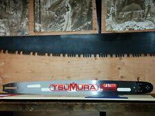 "30"" TSUMURA LIGHT CHAINSAW BAR FITS HUSQVARNA 390 372 562 NEW DESIGN 058 3/8THS"
