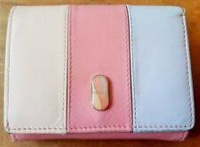 Pink Fiorelli soft leather wallet purse - good condition - 10cm x 8cm