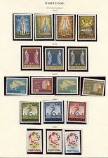 PORTUGAL LOT OF 1967  NEVER HINGED  STAMPS