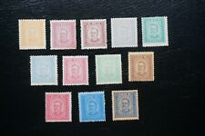 PORTUGAL 1892- 93 KING CARLOS COMPLETE SET