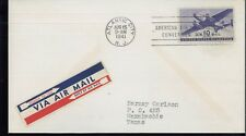 1941 Atlantic City New Jersey American Air Society Convention Air Mail Cover