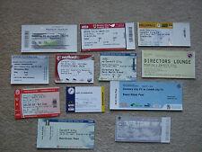 unused ticket + stub directors box bristol city v cardiff 10/3/12