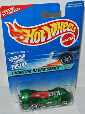 Phantom Racer #529 - Power Rocket-clear Green - 1:64 Hot Wheels 1996