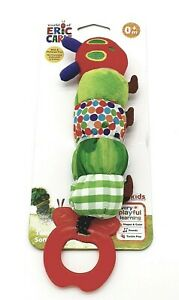 VERY HUNGRY CATERPILLAR  ERIC CARLE  BABY CATERPILLAR PLUSH SOFT ACTIVITY TOY