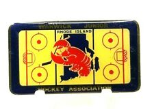 "Warwick Junior Hockey Rhode Island Hockey Association Lobster 2"" X 1 1/8"" (B11)"