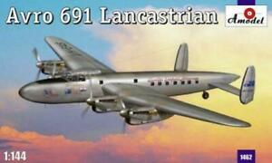 Amodel 1462 - 1/144 Avro 691 Lancastrian, scale plastic model kit