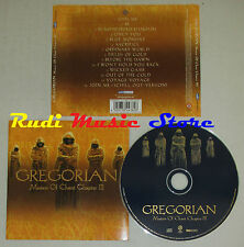 CD GREGORIAN Masters of chant chapter III 2002 germany EDEL 0144382ERE lp mc*dvd
