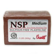 Chavant NSP Medium Brown Sculpting and Modeling Clay (40lb Case)