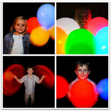 Mixed Colour LED illoom Balloons - 5 pack glowing light up balloons
