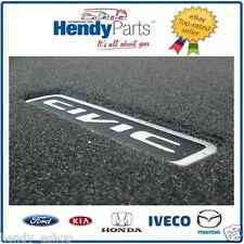 New! ECHT HONDA 4 Door CIVIC 2007 - 2012 BLACK FD1 FD2 FLOOR MATS RHD