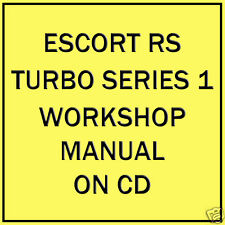 Buy ford cd car service repair manuals ebay ford escort series 1 rs turbo workshop manual on cd fandeluxe Images