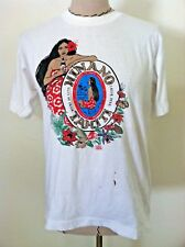 Vintage T Shirt 1950s Beer Logo Hinano Tahiti Girl Distressed Size XS S M unisex