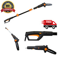 Electric Telescoping Pole Saw 6-Amp 8-Inch Saw 12-Foot Reach Chainsaw Pruner NEW