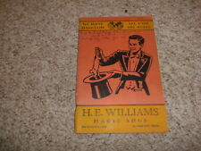 New listing He Willaims Magic Catalog