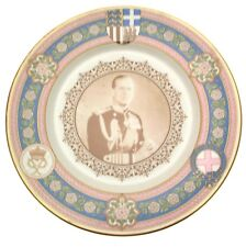 Caverswall plate commemorating 60th birthday of HRH Prince Philip Duke