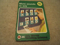 Vintage More sounds to say 5c Key words Reading Scheme Ladybird Book