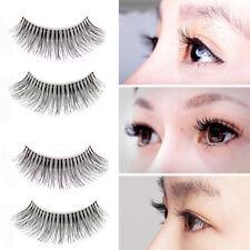 10 stk 3D Long falsche Wimpern natürliche Augen-Peitsche-Verlängerung