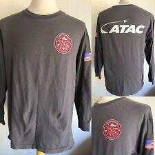 "ATAC AIRBORNE TACTICAL ADVANTAGE CO. US Navy ""Maintenance Team"" T-Shirt Large"