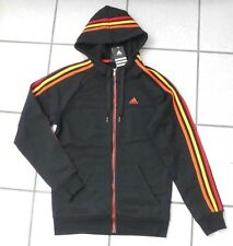 @ Original Adidas essentials schwarze Kapuzen-Sweatjacke Gr. S  NEU mit Etikett
