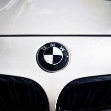BRAND NEW OEM BMW Black and White Roundel Emblems 3 Piece