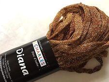 "S Charles Diana Metallic Ribbon Yarn #3 Bronze Star 50gr 1/4"" x 63yds"