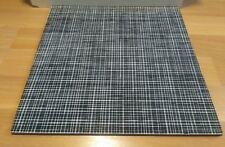 """Chilewich Vinyl Floor Tile 19 Pcs Lounge Black White (18''x 18"""") Square"""