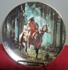 "1992 The Hamilton Collection Sun Seeker ""Mystic Warriors"" Collector Plate"